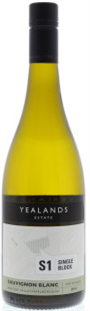 Yealands Estate Sauvignon Blanc Single Block S1 2014 750ml